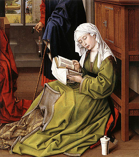 Rogier van der Weyden, The Magdalene Reading