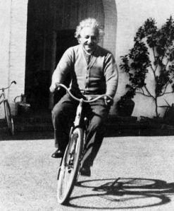 biking einstein